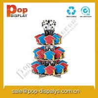 Wholesale Vertical Cardboard Cupcake Display Stands With Oil Lamination from china suppliers