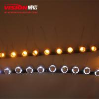 Wholesale VISION Universal Wholesale Car Accessories Daytime LED White with Yellow Turning Light Daytime Running Light from china suppliers