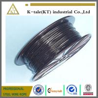 Quality top quality lifting 3mm pvc coated steel wire rope cheap stianless steel wire for sale