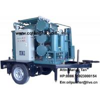 Wholesale Mobile Multi-functional transformer oil Purifier machine to remove deep oxide free carbon from china suppliers