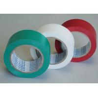 Wholesale Green / White Stabilized Floor Marking Tape Adhesive Insulation Plasticized PVC Matte Film from china suppliers