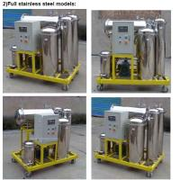 Wholesale Used Cooking Oil Filtration equipment for removing water and impurities(stainless steel) from china suppliers