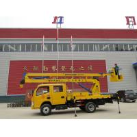 Wholesale Aerial working Boom Platform truck , 2470 / 3025 Kg Axle load Aerial Platform Truck from china suppliers