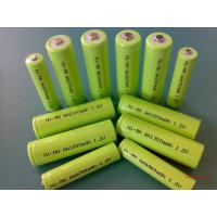 Wholesale Green 1.2V DVD NIMH Rechargeable Battery AA 2700mAh With ROHS from china suppliers