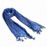 Wholesale 100% Viscose Scarf with Printing, Azo-free and Low-cadmium, Various Colors are Available from china suppliers
