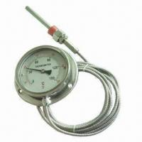 Stainless Steel Bimetal Thermometer with High Accuracy