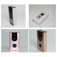 Wholesale White pink golden WIFI Video Doorbell Wireless smart home video door phone from china suppliers