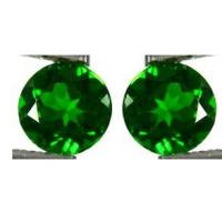 Wholesale Round Green Chrome Diopside For Loose Gemstones Pendants AA AAA from china suppliers