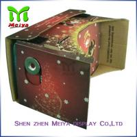 Wholesale Colorful Virtual Reality Cardboard Box for Watching 3D Movie / Video from china suppliers