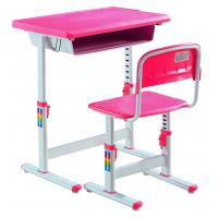 Wholesale New Style Adjustable Plastic Study Table and Chair from china suppliers