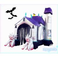 Wholesale 5m(L)*3m(H)*2m(W) Oxford Inflatable Halloween Arch for Party and Decoration from china suppliers