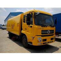 Wholesale Factory direct sale best price dongfeng 4*2 LHD diesel road sweeper truck, hot sale dongfeng street sweeping vehicle from china suppliers