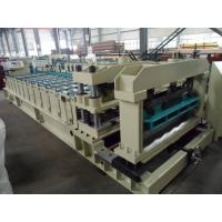Wholesale Steel Rollers Step Tile Roll Forming Machine Automatic for Metal Tile from china suppliers