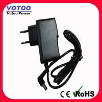 Wholesale ABS PC Security Switching Power Adapter 12v 0.5a / 1a White Shell With 5.5 × 2.5mm DC Plug from china suppliers
