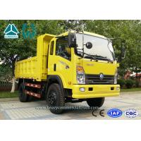Wholesale Yellow CDW 4 X 2 Mining Dump Truck 4 Ton With Extended Cabin Diesel Engine from china suppliers