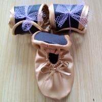 Wholesale Ballet slipper style wedding shoes, ballet shoes to wear with wedding dress from china suppliers