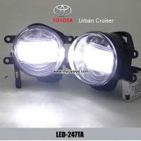 Buy cheap TOYOTA Urban Cruiser car front fog lamp LED DRL daytime running lights from wholesalers