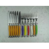 Wholesale steak knife set with ABS handle France steak knife different size from china suppliers