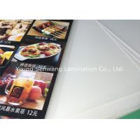 Wholesale Crack Resistance Pouch Laminating Film A5 , Small Menu Laminating Pouches from china suppliers