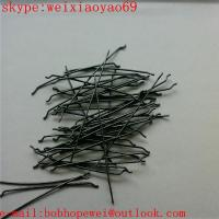 Wholesale endhooked steel fiber/hooked end steel fibre from china suppliers