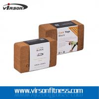 Wholesale hard and strong Eco cork yoga block from china suppliers