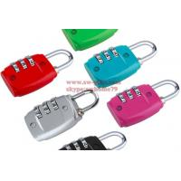 Wholesale Hot sale Zinc Alloy Security 3 Combination Travel Suitcase Luggage Code Lock Padlock from china suppliers