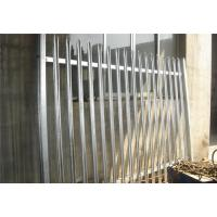Wholesale galvanized palisade fencing from china suppliers