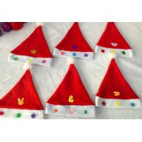 Wholesale Cheap Butterfly Design Christmas Cap Christmas Hat for Children from china suppliers