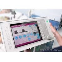 Wholesale Square Medical Touch Screen Monitor 12.1 Inch Size 24 Bit RGB Interface from china suppliers