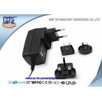 Wholesale 12V 1.5A Wall Mount Power Adapter For Acoustic Products , Universal EU US UK AU Plug from china suppliers