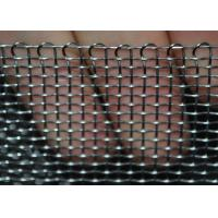 Wholesale Heavy Duty Stainless Steel Wire Mesh Woven Crimped For Filtration , Stable Structure from china suppliers