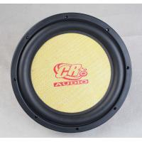 Wholesale 250 Watt RMS Power 1 Layer Car Woofer Speakers 10 Inch 87dB Sensitivity from china suppliers