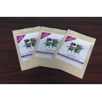 Wholesale Custom Kraft Paper Tea Bags Packaging Good Printing with Zipper from china suppliers