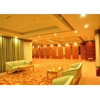 Wholesale Training Room Folding Divider Walls , Folding Wall Panels For Home Studio Recording from china suppliers