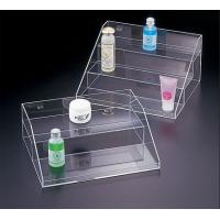 Wholesale Transparent Acrylic Cosmetic Display , 3 Tier Acrylic Display Case with Drawers from china suppliers