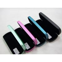 Wholesale Portable Stitched Metal Optical Glasses Case , Personalised Hard Glasses Case from china suppliers