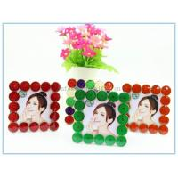 Wholesale Shinny Gifts Metal materials square photo frames for souvenir gifts from china suppliers
