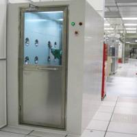 Wholesale Cold Rolled Plate Cleanroom Air Shower Automatic Single / Double Door from china suppliers