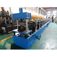 Wholesale High Front Quad Gutter Making Machine For Galvanized Steel / Aluminium / Copper Material from china suppliers