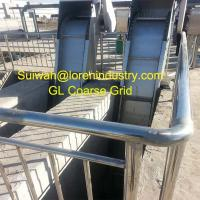 Wholesale coarse  screen, flow-guide style S.S. coarse grid for large solid and sludge separation from china suppliers