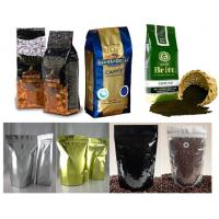 Wholesale PET / AL / PE Coffee Valve Foil Bag Packaging Durable with Hang Hole from china suppliers