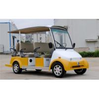 Wholesale 4.0KW EZ GO 6 Passenger Electric Car Shuttle Golf Cart With Roof For Tourist from china suppliers