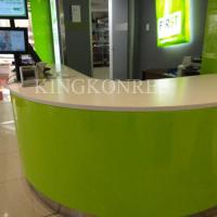 Wholesale Translucent resin panel reception desk from china suppliers