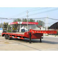 Wholesale 2 axles low bed semitrailer from china suppliers