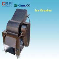 Wholesale 110 - 220V Electric Crush Ice Machine , Ice Crushing Machine 2 Tons Per Hour from china suppliers