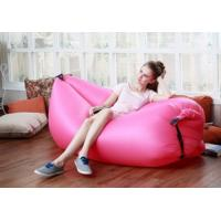 Wholesale Functional Outdoor Inflatable Lazy Hangout Sleeping Air Bag Outdoor travel sleeping bag&beach sofa&Convenient sofa from china suppliers