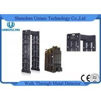 Wholesale Mobile Walk Through Safety Gate , Black Portable Metal Detector Security Check from china suppliers