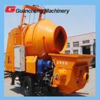 Wholesale 380v Power Hopper Volume Concrete Mixer Pump 450L Mixing Pump open Hydraulic circuit type from china suppliers