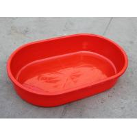 Wholesale Offer Red plastic Basin using aquatic product / Plastic long oval Storage/Containers from china suppliers