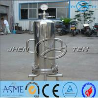 Quality Lenticular Disk Filter Stainless Fermentation Tank for Beer Water Beverage , Easy To Clean for sale